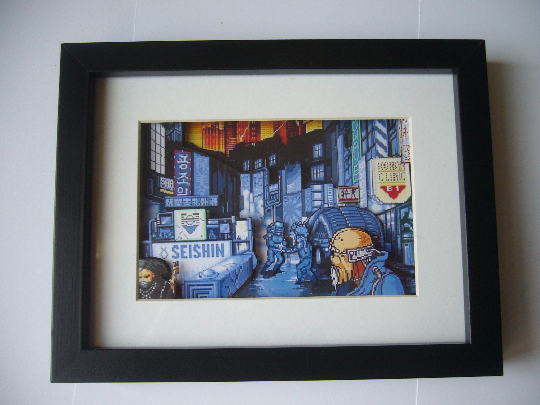 Snatcher  3D Diorama Shadow Box