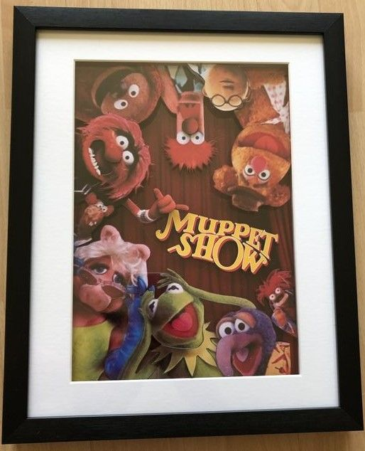 The Muppet Show 3D Shadow Box Diorama