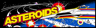 Image result for asteroids marquee